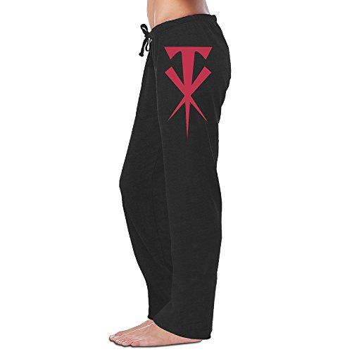 LowkeyNr1 Women's WWE Undertaker Crossed Logo Sweatpants ...