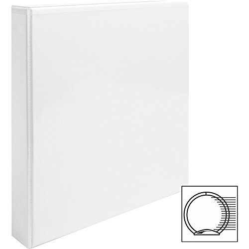 3-Ring Binder, 1 Inch With 20 Top-Loading Poly Clear Sheet