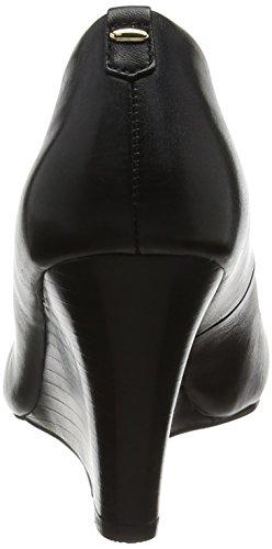 Aldo Augustino, Zapatos de Cuñas Negro (Negro Leather)