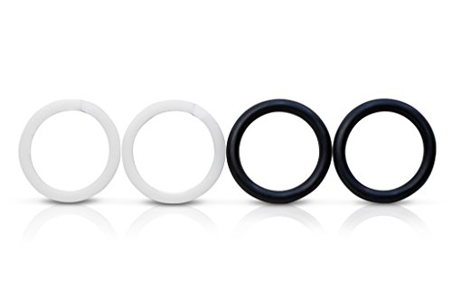 Coxreels 1935-SEALKIT Nitrile Replacement Swivel Seal O-Ring Kit,Black/White 3/8 ()