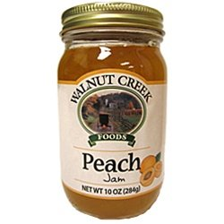Amish Sweet Peach Jam 9 oz Ohio Made
