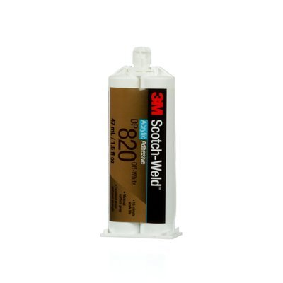 3M Scotch-Weld DP820 Off-White Two-Part Base (Part B) Potting & Encapsulating Compound - 1.6 fl oz Kit - 15 to 20 min Working Time - Shear Strength 3500 psi - 89347 [PRICE is per KIT] by 3M