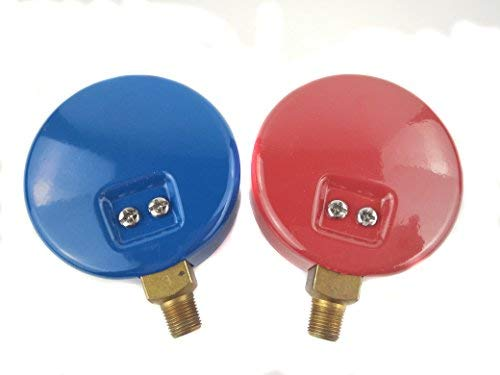 Wisepick Refrigerant Low and High Pressure Gauges for Air Conditioner R134A  R22 R410A R404A