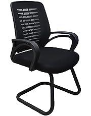 كرسي شبكي طبي للانتظار بالمكتب من ساركو مصر - اسود