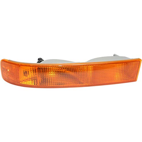 New Front Left Driver Side Parking/Signal/Side Marker Light For 2003-2018 Chevrolet Express, 2003-2018 GMC Savana Van Lens And Housing GM2520188 23284114