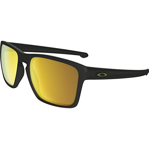 Oakley Men's Sliver Xl (a) Non-Polarized Iridium Square Sunglasses, Matte Black, 57.02 - Sliver Xl Oakley
