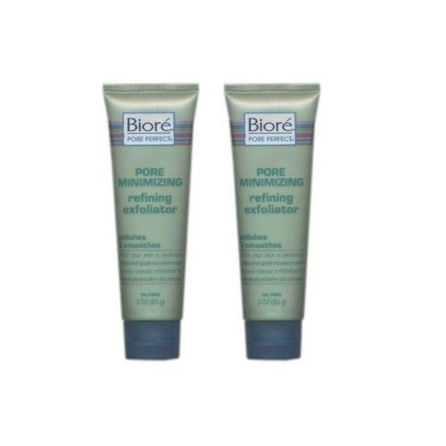 Biore Pore Minimizing Refining Exfoliator 3 fl oz (88 ml) (Set of 2) (Biore Pore Minimizing Refining Exfoliator)