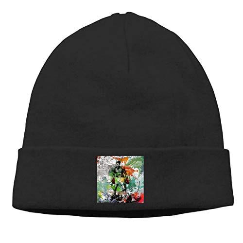 Sweatshirt Greatest (Men's Winter Warm Beanie Hats Muhammad-Ali-I Am The Greatest Slouchy Beanie for Women Black)