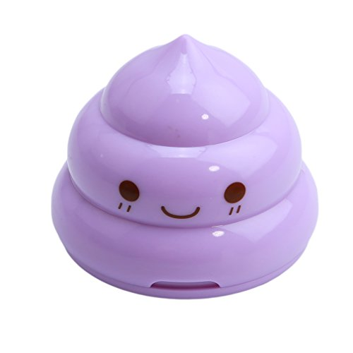 HS Funny Poop Shaped Double Hole Pencil Sharpeners Cute Stat
