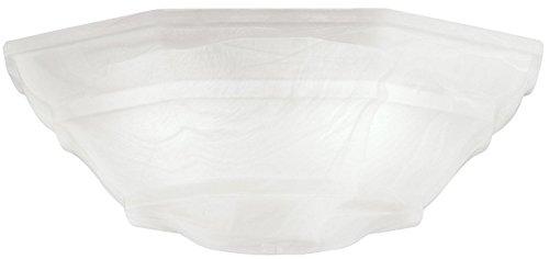 Kichler 340103, White Alabaster Glass Bowl from KICHLER