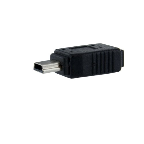 StarTech.com Micro USB to Mini USB 2.0 Adapter - Micro USB (f) to Mini USB (m) - UUSBMUSBFM ()