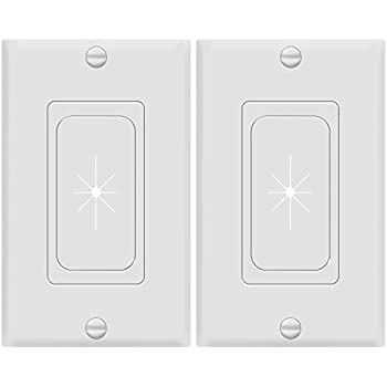 DataComm Electronics 45-0017-WH-2PK 3 Pack Split Style TV Plate with Flexible