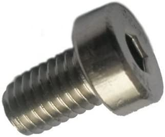 100 Edelstahl V2A Inbus Zylinderkopfschrauben niedrig DIN 7984 A2 M3x20
