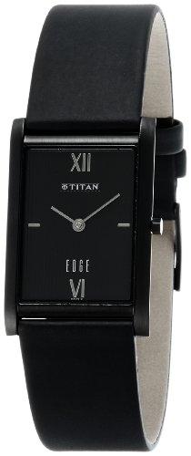 Titan Edge Analog Black Dial Men's Watch - NE1043NL01 [Watch] ()
