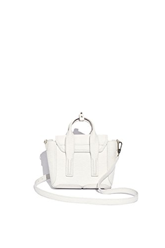 3.1 PHILLIP LIM FEMME AS170226SKCMA105 BLANC CUIR SAC À MAIN