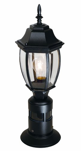 Outdoor Lamp Post With Motion Sensor - 2