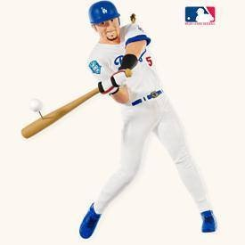 Nomar Garciaparra-Los Angeles Dodgers 13th in Series 2008 Hallmark Ornament