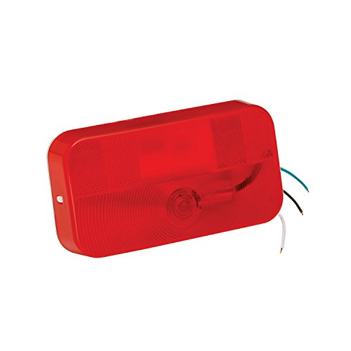 Bargman 31-92-001 Mount Stop/Tail/Turn Light (Surface - White (Bargman Tail Light Lens)