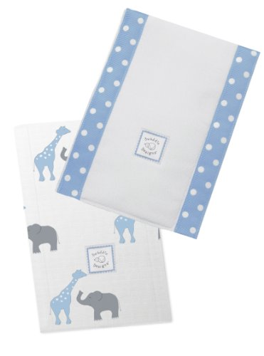 SwaddleDesigns Burpies Cotton Cloths Safari product image