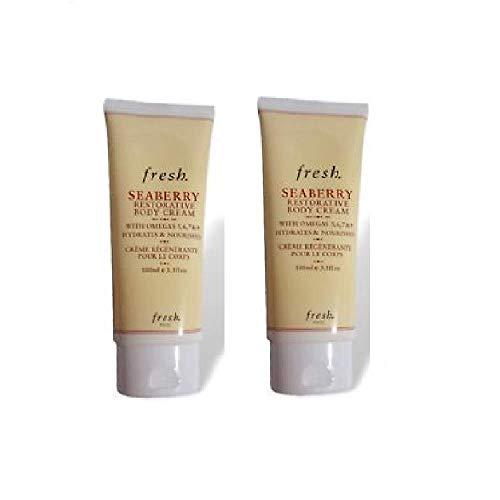 Seaberry Restorative Body Cream 3.3 Oz (Fresh Cosmetics Seaberry)