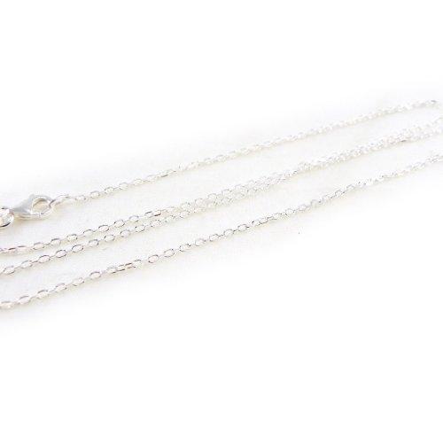 """Chaine Argent """"Forçat"""" 42 cm 1. 2 mm"""