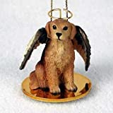 Golden Retriever Pet Angel Ornament