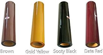 4 colores calor prensa sintética vinilo 4yards fabricado en Corea ...