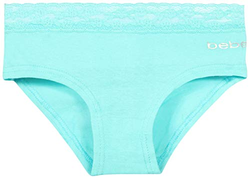 bebe Girls Hipster Underwear (9 Pack) Lace, Small / 7-8' by bebe (Image #2)