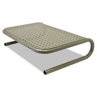 Metal Art Jr. Monitor Stand, 11'''' x 14 1/2'''' x 4 1/2'''', Pewter, Sold as 1 Each by Allsop