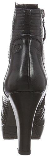 negro mujer 12 botas Ella negro cuero de bajo de GERRY caño WEBER COqxvORw