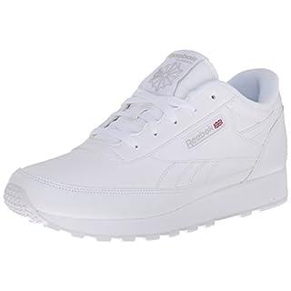 Reebok Women's Classic Renaissance Sneaker, White/Steel, 7.5 M US