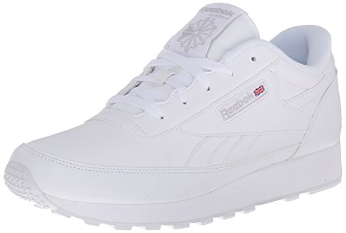 Reebok Women's Classic Renaissance Sneaker, White/Steel, 9 D US (Best Reebok Running Shoes For Women)