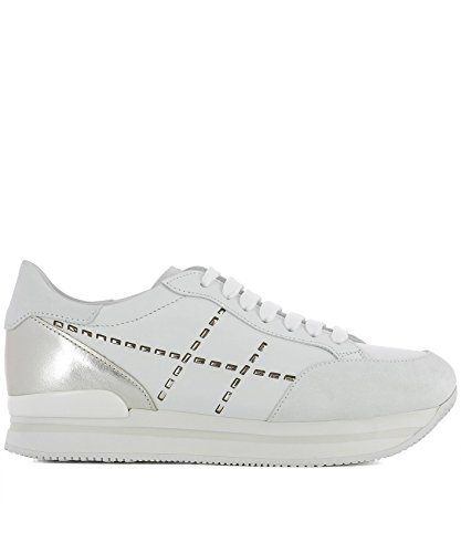 Hogan Women Hxw2220k080i9p1556 Sneakers In Pelle Bianca
