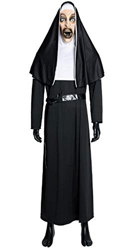 Horror Movie Conjurings's Nun Costumes Halloween Cosplay for Women