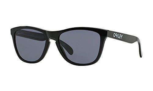 Oakley Frogskins 24-306 Sunglasses Polished Black/Grey 55mm (Oakley Frogskin Frauen)