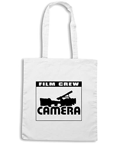 Bianca Shopper CAMERA FILM Borsa OLDENG00078 Speed Shirt CREW 7ytzcqwSTa