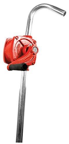 Performance Tool W54270 Red Heavy Duty Rotary Barrel Pump -