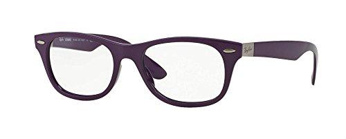 RAY BAN Eyeglasses RX 7032 5437 Violet - Ban Ray Eyeglasses Purple