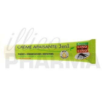 Cinq sur Cinq 3 in 1 All Natural Soothing Insect Bite Cream 40 Gr