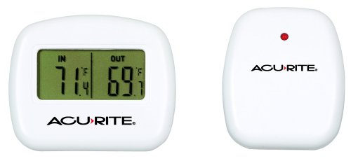 AcuRite 00782A2 Wireless Indoor/Outdoor Thermometer, Temperature
