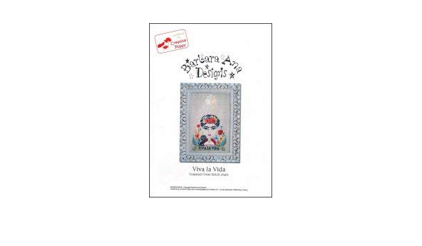 Barbara Ana Designs Cross Stitch Chart Viva la Vida