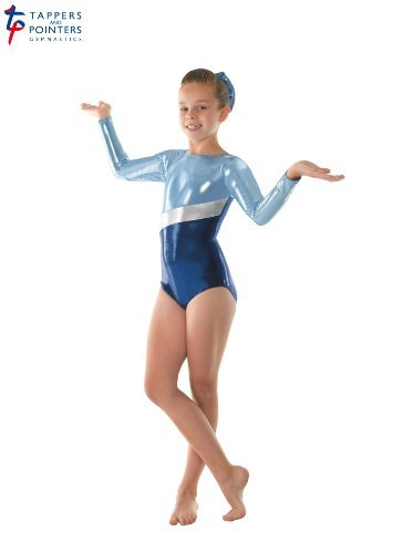 Amazon.com: Girls Gymnastics Leotard Super Shiny Metallic ...
