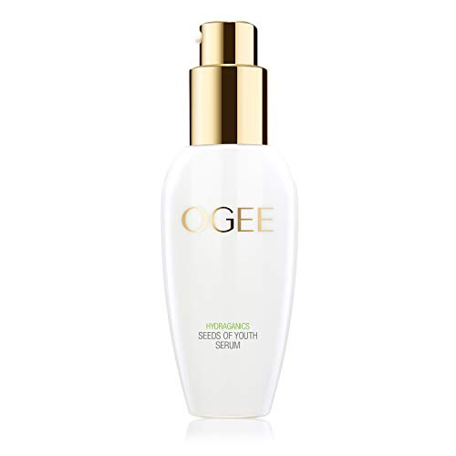Ogee Seeds of Youth Serum - Organic & Natural, Anti-Aging & Anti-Wrinkle Face Serum with Plant Stem Cells, Hyaluronic Acid, Vitamin E (30ml)
