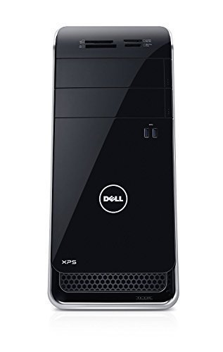 2018 Dell XPS 8900 Premium Flagship Desktop Computer (Intel Quad-Core 6th Generation i7-6700, 16GB RAM, 2TB HDD, NVIDIA GeForce GTX 745 with 4GB DDR3, DVD, WiFi, Windows 10) (Certified Refurbished)