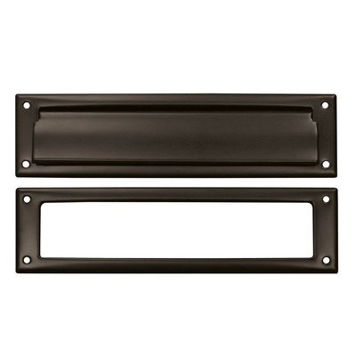 Mail Slot with Rear Access Finish: Oil Rubbed Bronze