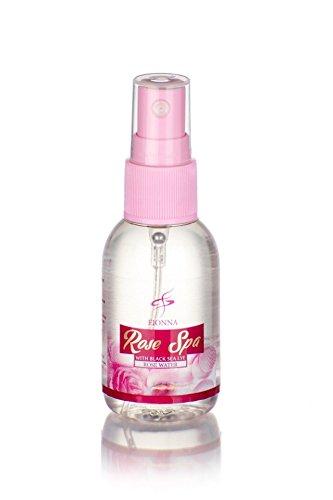 (Rose Water Toner Facial Spray Mist with Bulgarian Rose Oil Damascena Oil Black Sea Lye (Chemical Free) 1.7 oz 50 ml)