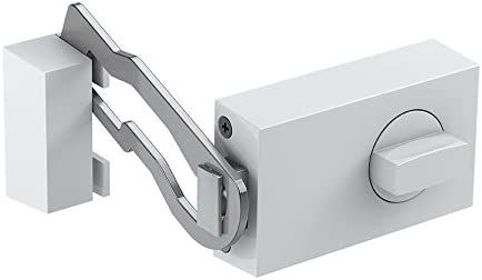 Silber BASI R1306-0205 KS 500R Halbrunder Felgenschloss mit T/ürschutz R1304-0205