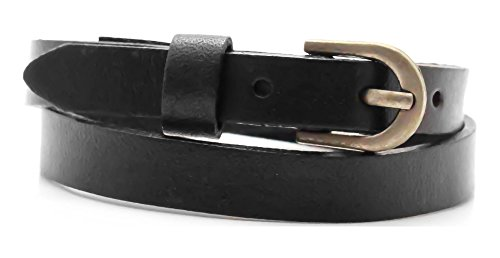 - Xusamss Fashion Alloy Buckle Leather Belt Wristhand Bracelet Bangle,7.0-8.0inches