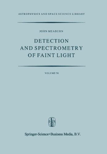 Detection and Spectrometry of Faint Light (Astrophysics and Space Science Library)