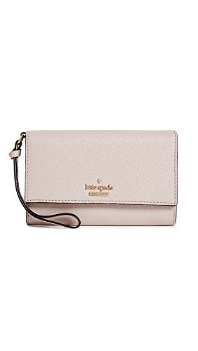 Kate Spade New York Women's Jackson Street Malorie Wallet, Bone Grey, One Size by Kate Spade New York